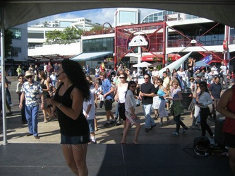 Lonsdale Quay summer dance event