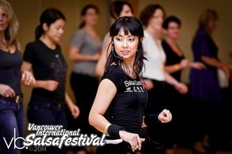 Jessica Vancouver Salsa Festival